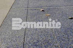 The Bomanite Revealed Exposed Aggregate System was chosen for this space at Valley Children's Hospital to provide durability and strength while adding beautiful decorative appeal to the exterior hardscape surfaces.