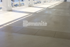Our associate Beyond Concrete installed approximately 11,200 square feet of walkways, main dining areas, and patios at the Westchester Country Club Beach Club area and their utilization of Bomanite Revealed will provide an extremely durable surface that can withstand the challenges of this beachside environment.