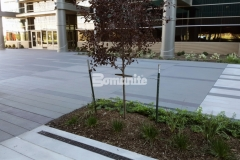 Sandscape Texture by Bomanite was the product of choice to create a beautiful and durable decorative concrete hardscape that highlights the limitless possibilities of architectural concrete.