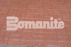 Connecticut Bomanite Systems earned the 2018 Bomanite Imprint Systems Bronze Award for their expert installation of 31,450 square feet of Bomanite Basketweave Brick imprinted concrete and their efforts produced a beautiful hardscape surface that complements the surrounding architecture and design.